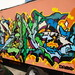 Dame MSK AWR SeventhLetter LosAngeles Truck Graffiti Art