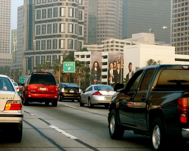Los angeles traffic flickr photo sharing