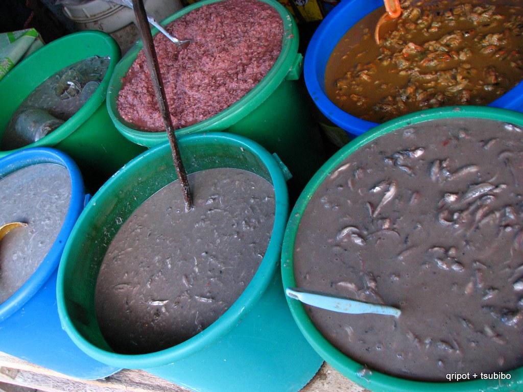 ginamos salted fermented fish ginamos with kalamansi