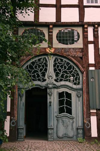 Beautiful door open air museum detmold flickr photo for Beautiful door designs