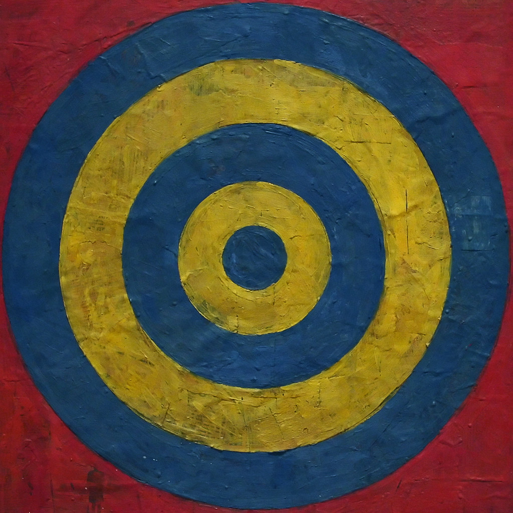 Target With Four Faces Detail Artist Jasper Johns