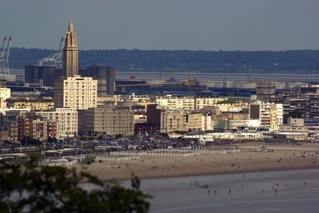 3 3859 le havre panorama le havre beach rolye flickr for 3d architecture le havre