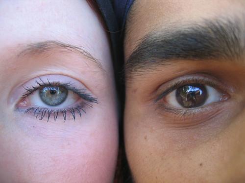 Yin Yang Eyes   Greer & Mani @ Kew Gardens. [Macro shot ...
