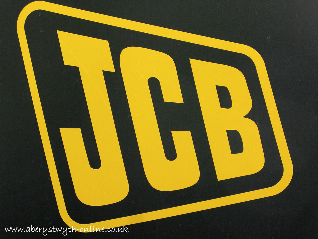 JCB Logo : Produced by: Aberystwyth Online Town Guide JCB ...