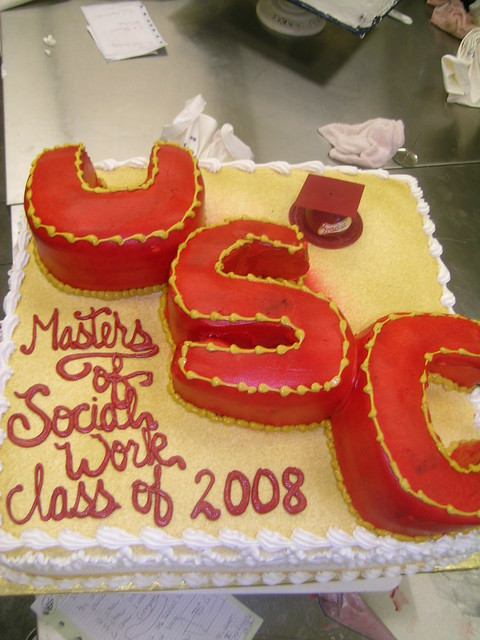 Usc Birthday Cake Images : usc grad cake Flickr - Photo Sharing!