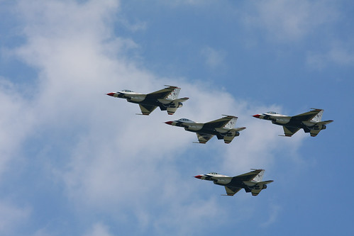 F-16C Thunderbirds Formation | by DirtyManSam79