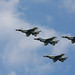 F-16C Thunderbirds Formation