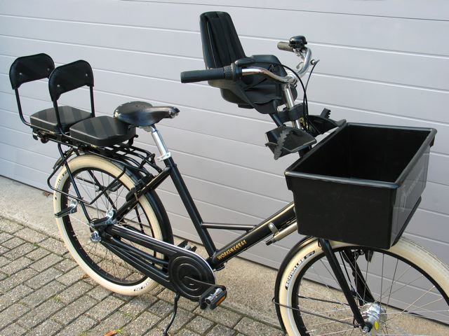 bikes from workcycles in amsterdam photo courtesy henry. Black Bedroom Furniture Sets. Home Design Ideas
