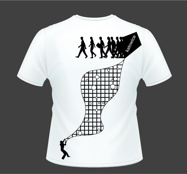 t shirt design t shirt design for aiesec katowice reject lucas flickr. Black Bedroom Furniture Sets. Home Design Ideas
