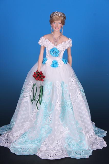 ciel de reve dress limedit to4 for princess diana dol