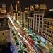 Woodward Ave. Saturday night Detroit