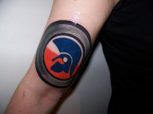 Trojan Sharp Tatto Kirie Antifascista Flickr