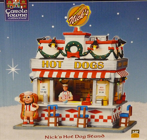 Hot dog stand carole towne collection christmas vil flickr