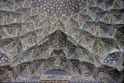 The Mosque Of Shaykh Lutfallah The Tiled Muqarnas Conch A