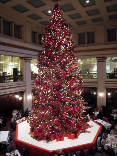 2008 Walnut Room Christmas Tree Macy S Marshall Field S