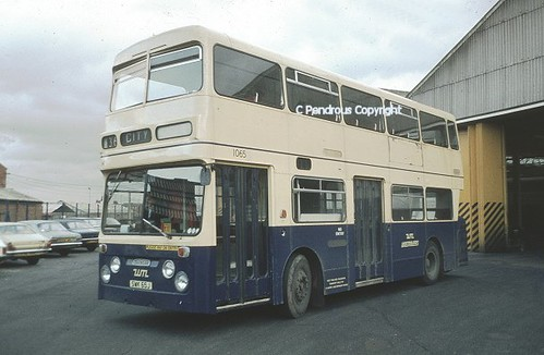 Wmpte 1065 At Sandy Lane Bus Garage Coventry 1983 Flickr