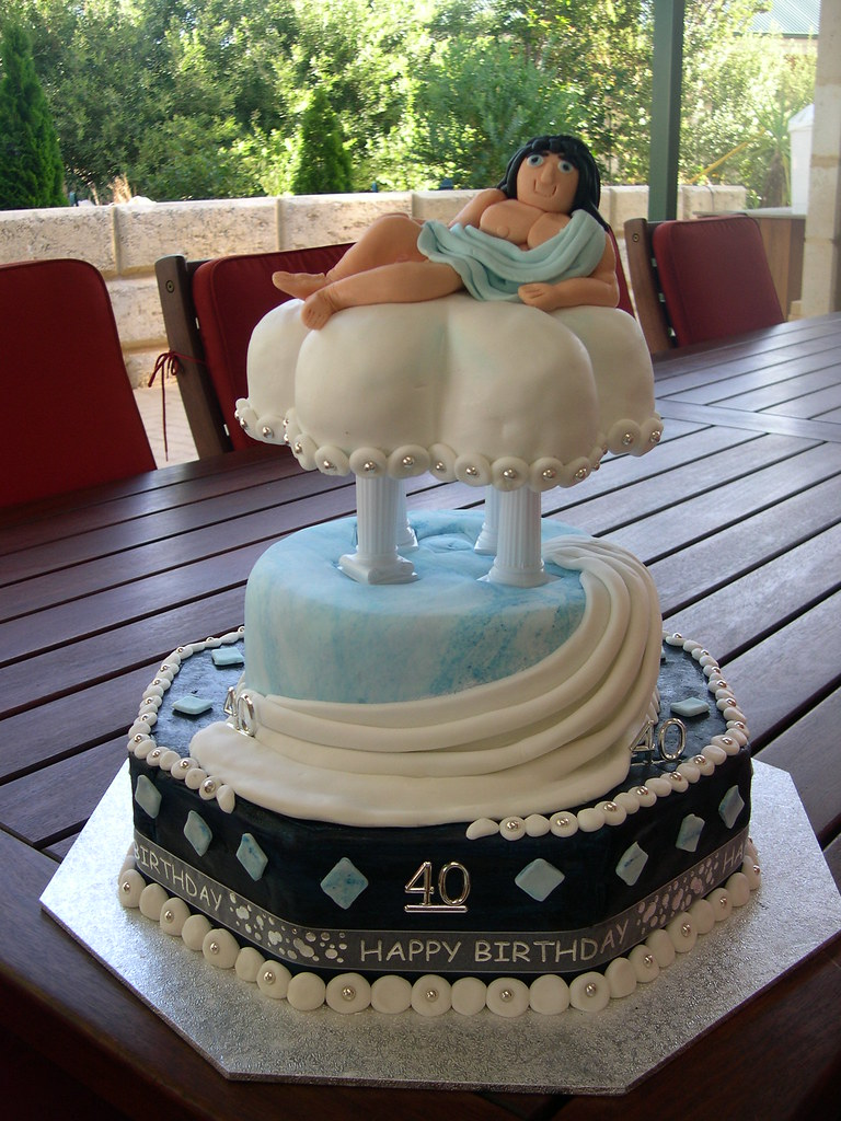 greek wedding cakes ideas mossy s masterpiece god toga 40th birthday cak 14951