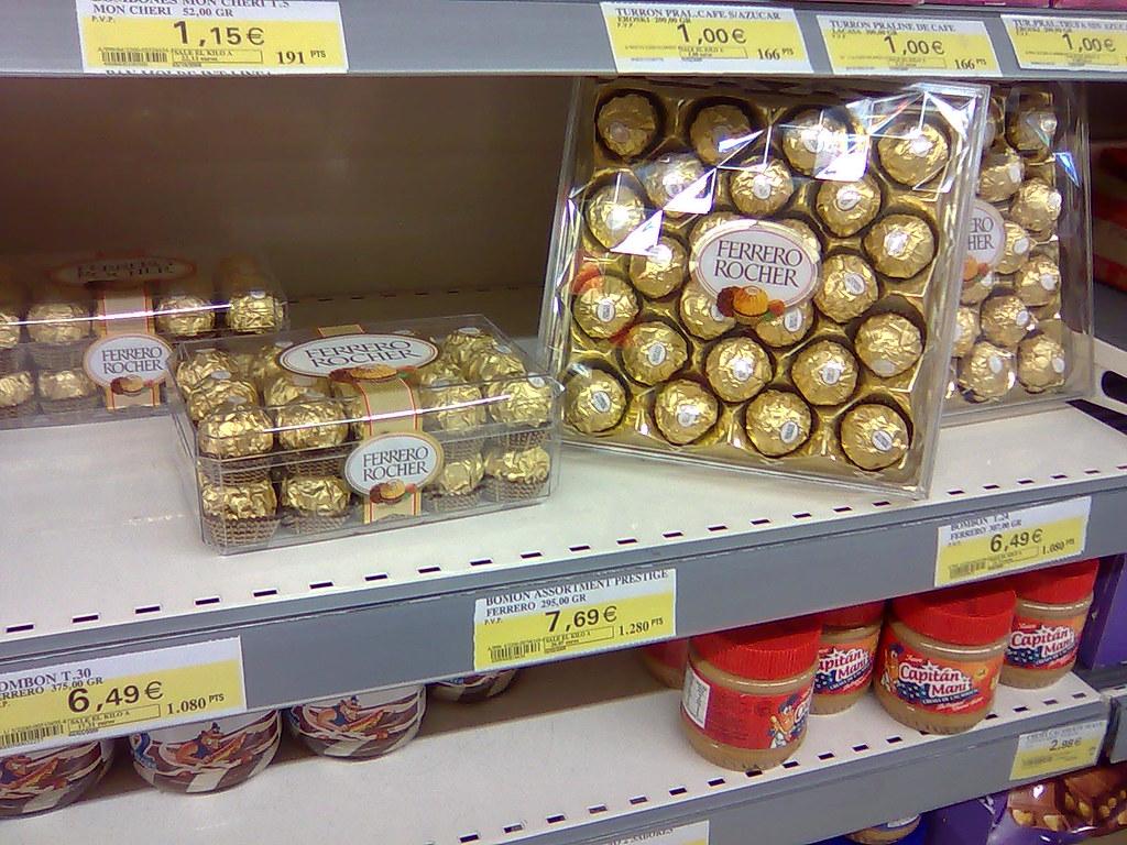 Caja Ferrero Rocher Decoraci Ef Bf Bdn