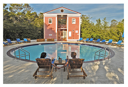 East Side Pool In Seaside Florida Cottage Rental Agency