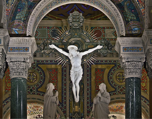 Cathedral Basilica of Saint Louis, in Saint Louis, Missouri, USA - crucifix | by msabeln