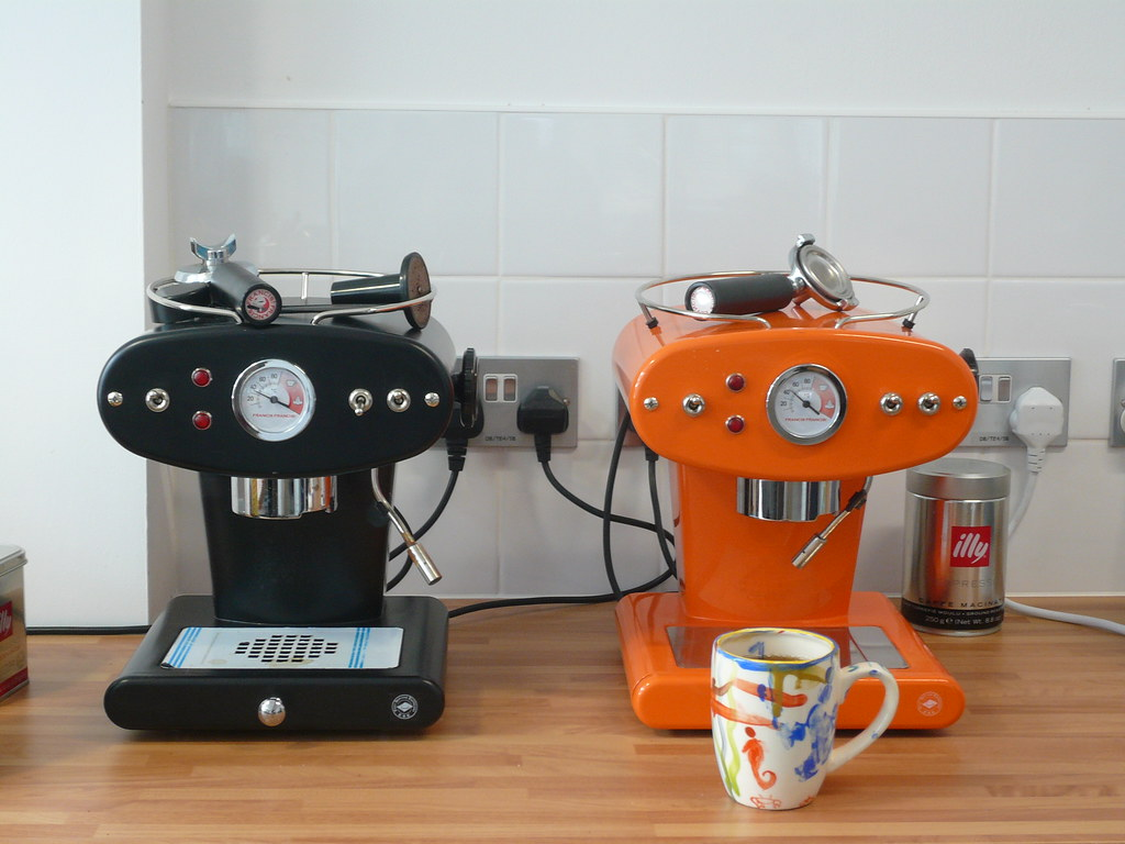 dual espresso machine