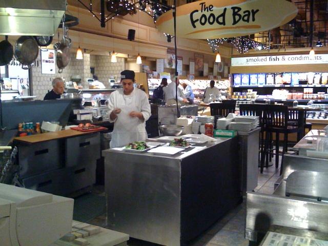 The wegmans food bar chris sternal johnson flickr for Food bar wegmans