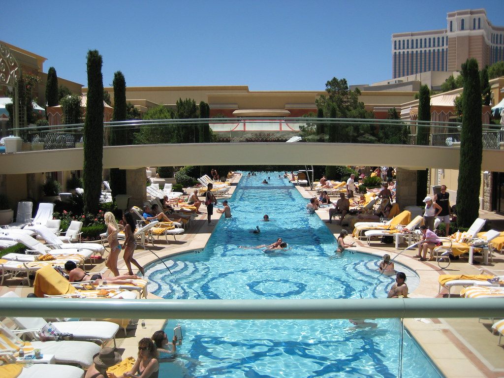 wynn las vegas pool promenade this is the opposite. Black Bedroom Furniture Sets. Home Design Ideas