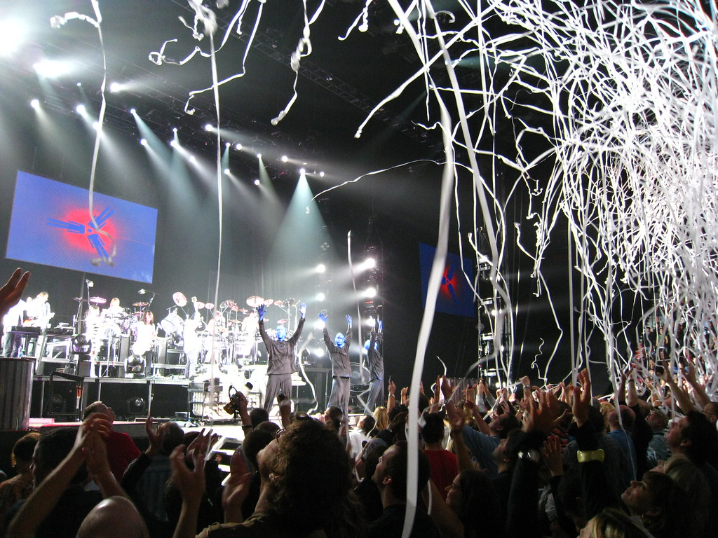 concert paper about blue man group Blue man group is comedy, theater, rock concert and dance party all rolled into  one this wildly popular phenomenon delivers an unforgettable, multi-sensory.
