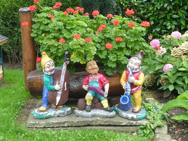 Cute Garden Gnomes Flickr Photo Sharing