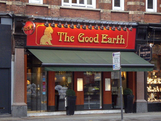 Chinese Restaurant Brompton Road
