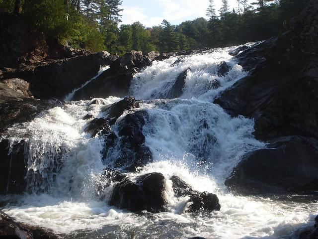 Chippewa Falls Ontario Canada Hwy 17 - YouTube
