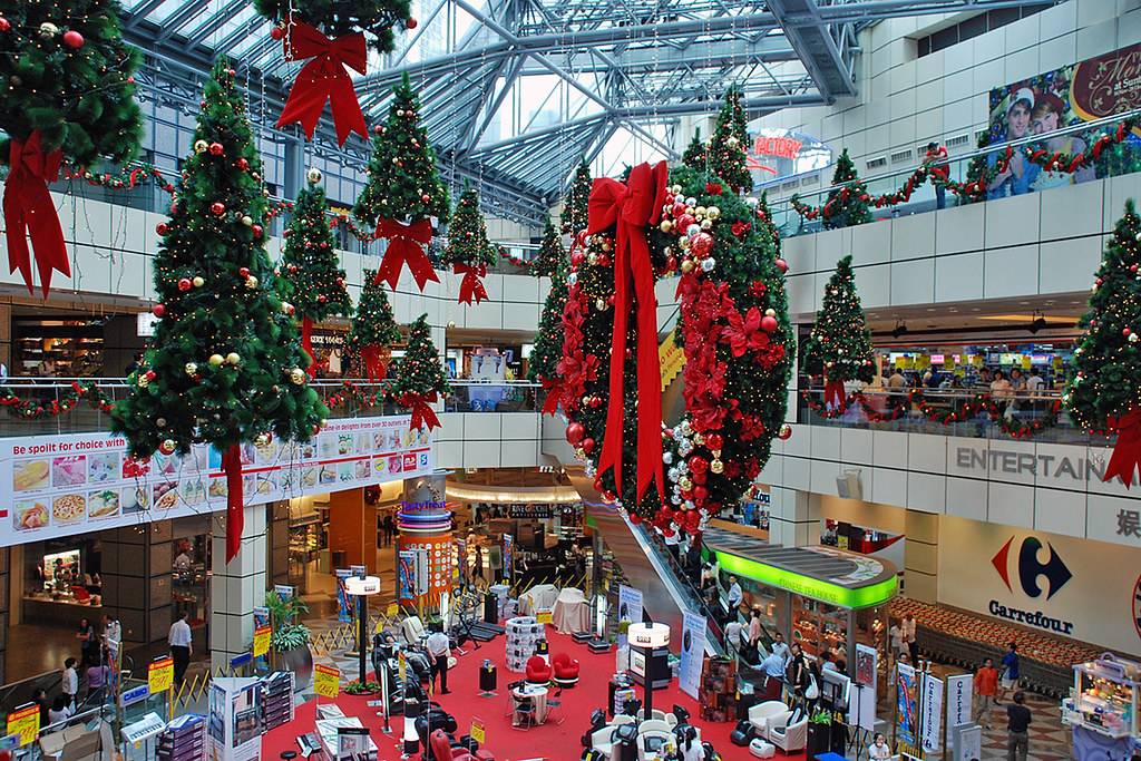 Suntec City Mall Decorations Christmas Decorations At