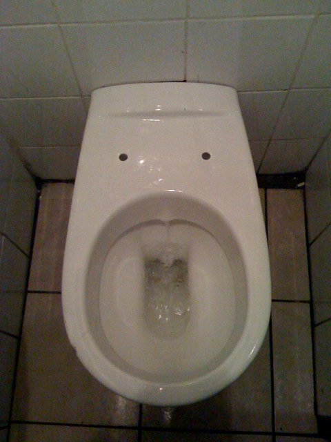 Pee Poo In My Mouth Toilet Bowl At The Johnny Walsh Pub