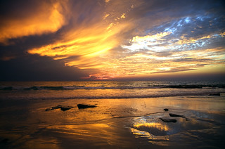 Cable Beach sunset, Broome (explore 15/05/11) | by piesgardiner