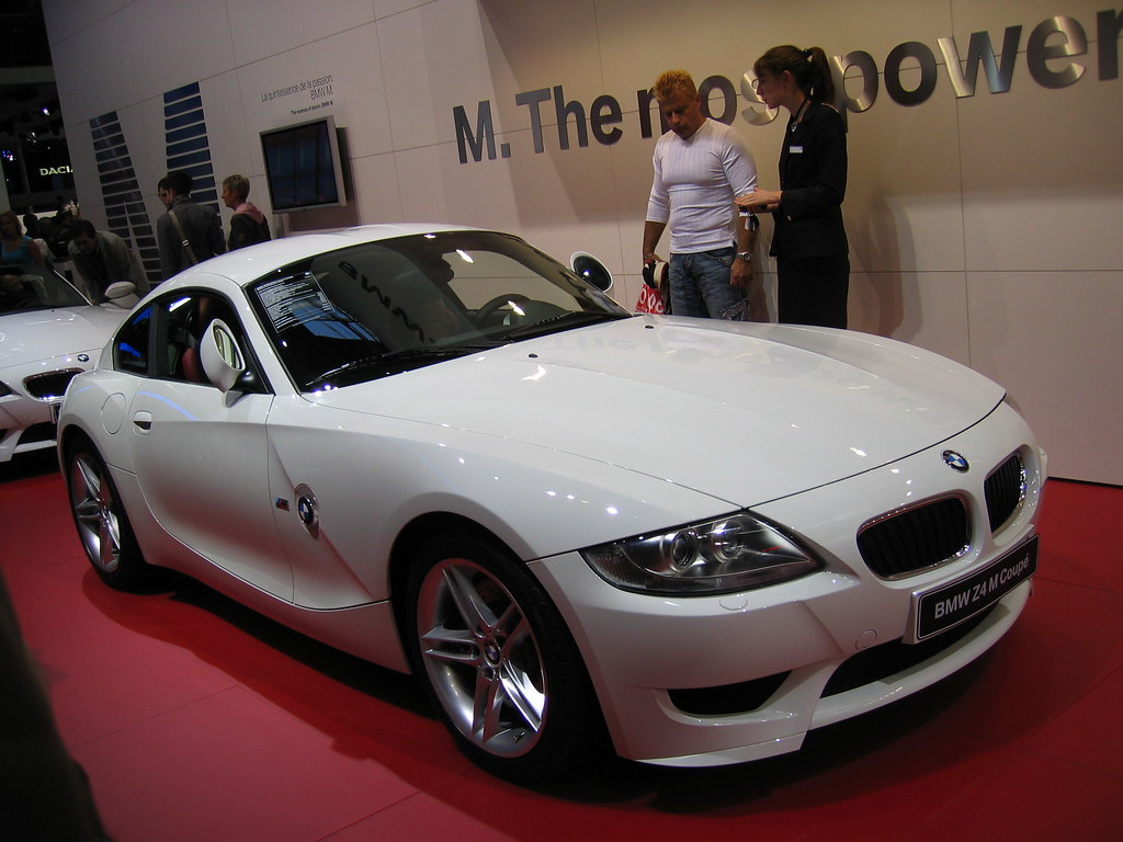 Bmw Z4 M Coupe Bmw Z4 M Coupe At The 2006 Paris Auto