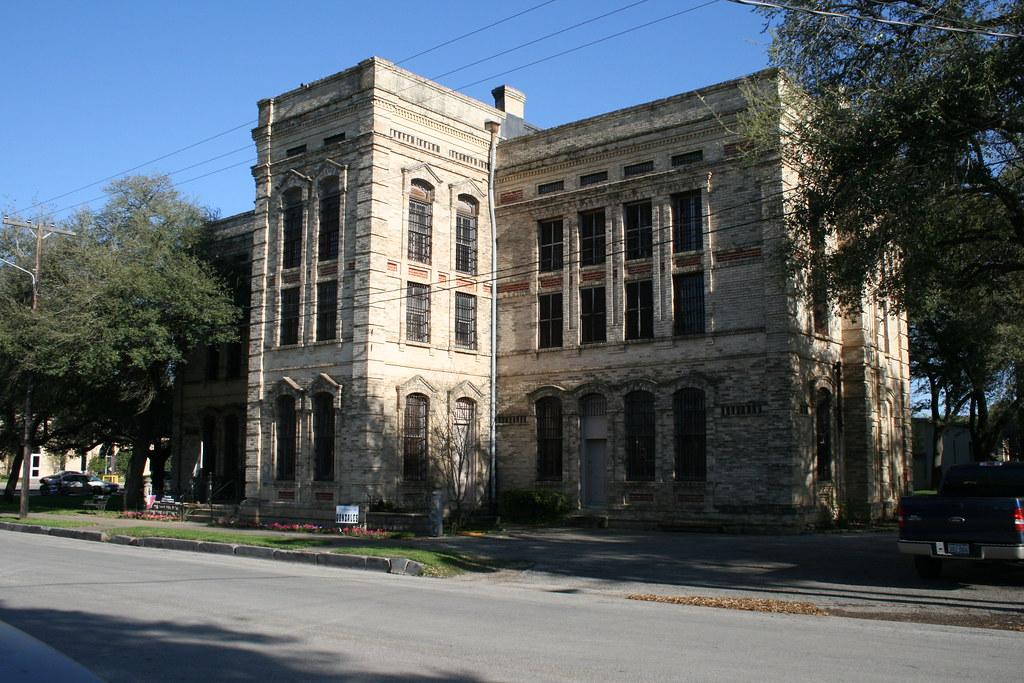 Exterior Of Old Jail Museum Gonzales Tx Aldooooo Flickr