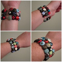 Button Bracelet | by average_jane_crafter