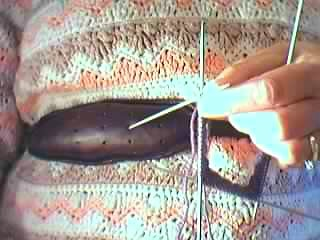 sock knitting belt the leather knitting belt or makkin