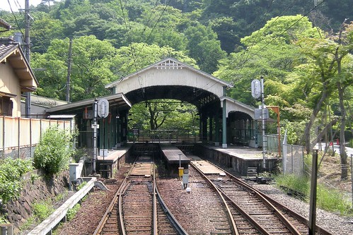 八瀬比叡山口駅 : 全国鉄道の頭...