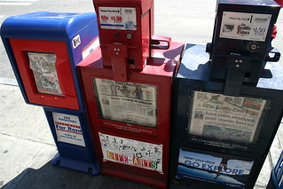 Local newspaper vending machines | by allaboutgeorge
