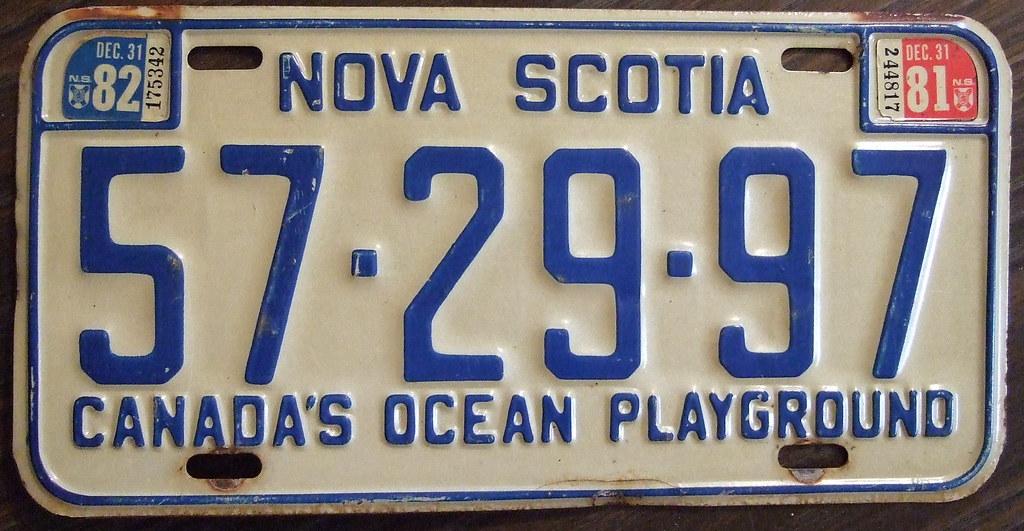 NOVA SCOTIA 198...
