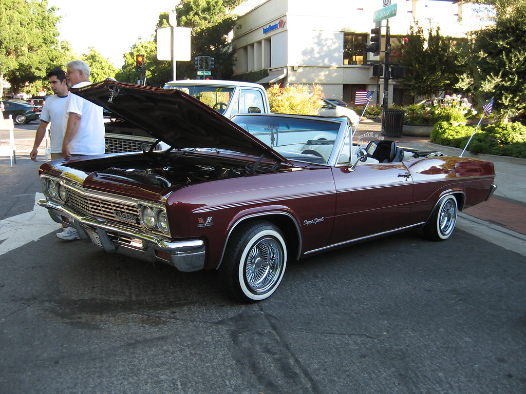 1966 Chevrolet Impala SS | A small car show at the Concord ...