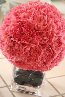 Carnation Pomander Centerpiece | by Sad Puppy