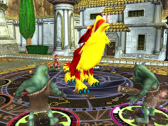 Wizard 101 School Of Fire Heckhound02 Wwwgamerhotlineco Flickr