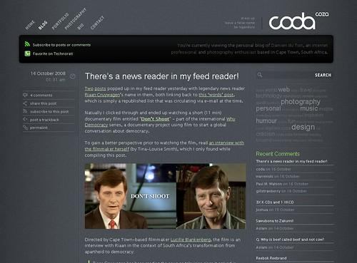website design ideas | coda.co.za/blog | Nadja von Massow | Flickr