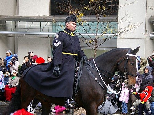 Toronto Mounted Police - 2008 T.O. Santa Claus Parade | by Onion Onion