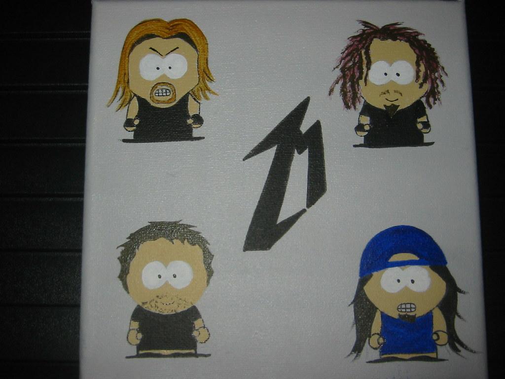 South park Metallica   South park Metallica   magdacasqueiro   Flickr