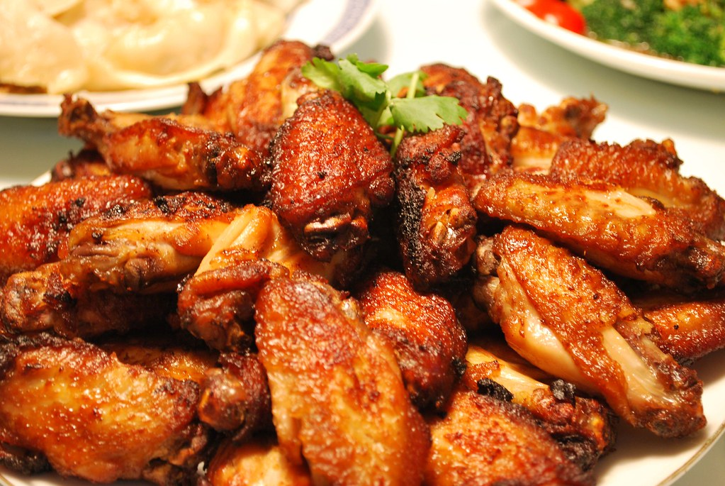 Grandmas Fried Chicken Wings  This Poh Lins Grandma -2622
