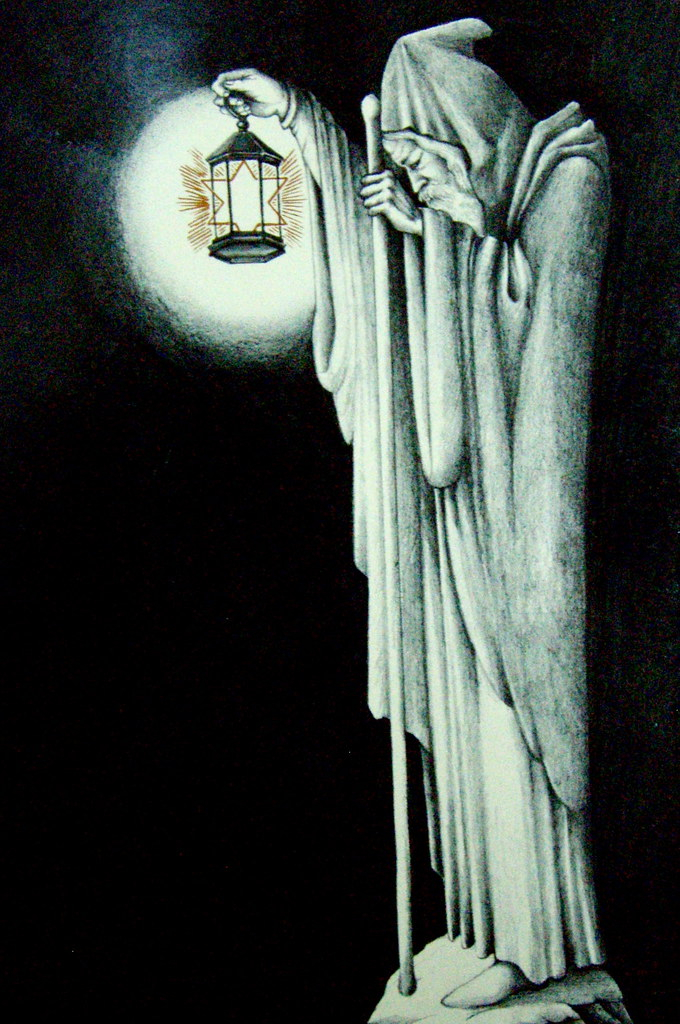 The Hermit Tarot Card Meaning In Readings Isolation: Led Zeppelin (The Hermit)
