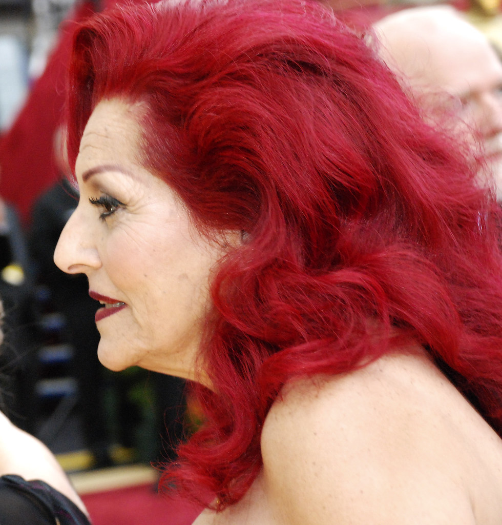 Oscar 2007, Woman With Red Hair  Oscar 2007, Woman In Red -1142
